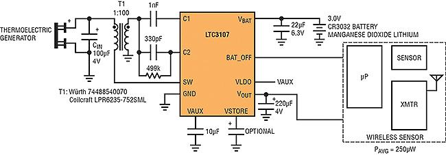LTC3107-dc-to-dc-converter